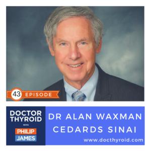 43:  A Summary of Radioactive Iodine Treatment for Thyroid Cancer, with Dr. Alan Waxman from Cedars Sinai