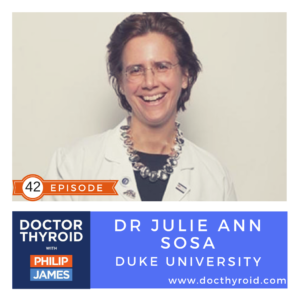 42: Flame Retardants Connected to Thyroid Cancer, with Dr. Julie Ann Sosa from Duke University