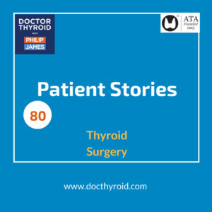 80: Father, husband, runner, musician, and the lifestyle changes that came after thyroid cancer surgery (Patient Story)