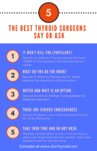 5 Key Things the Best Thyroid Surgeons Say or Ask Their Patients